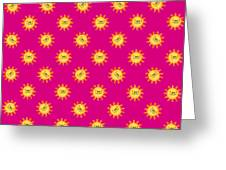 Sunshine Daisy Repeat Greeting Card