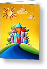 Sunshine Day Greeting Card by Cindy Thornton
