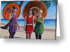 Sunshine Girls Greeting Card