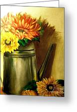 Sunshine In A Can Greeting Card