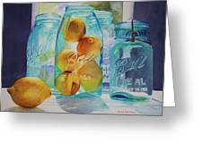 Sunshine In A Jar Greeting Card