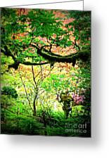 Sunshine In The Garden Greeting Card