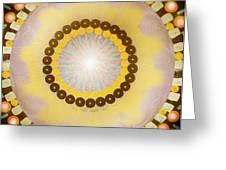 Sunshine Mandala Greeting Card