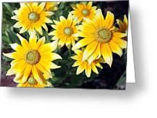 Sunshine On A Stem Greeting Card