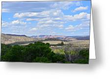 Sunshine On The Mountains - Verde Canyon Greeting Card