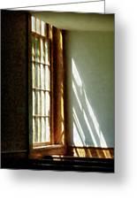Sunshine Streaming Through Window Greeting Card