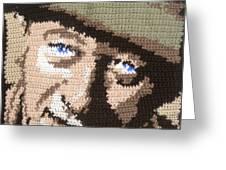 Suntan John Wayne Greeting Card