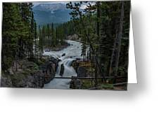 Sunwapta Falls Greeting Card
