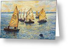 Sunwashed Sailors Greeting Card