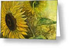 Sunworshipper II Greeting Card