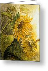 Sunworshippers I Greeting Card