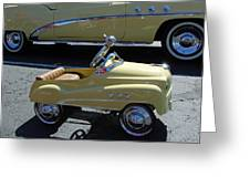 Super Buick Toy Car Greeting Card