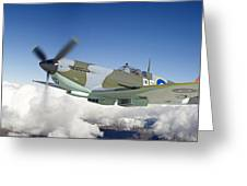 Super Marine Spitfire Greeting Card