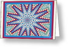 Super Quilt 3 Greeting Card
