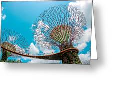 Super Tree Grove- Gardens By The Bay Greeting Card