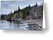 Superior Cliffs Greeting Card