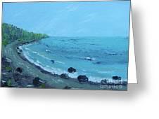 Superior Coast 1 Greeting Card