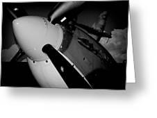 Supermarine Spitfire Mk.ix Greeting Card