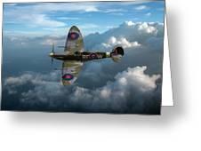 Supermarine Spitfire Vb Greeting Card