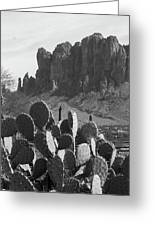 Superstition Mountain 2 Greeting Card