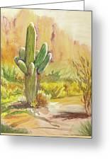 Superstition Saguaro Greeting Card