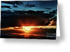 Superstition Sunrise Greeting Card