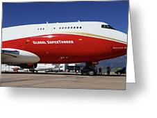Supertanker At Colorado Springs Greeting Card
