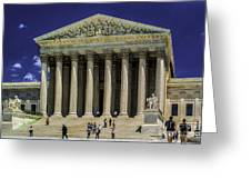 Supreme Court Of The United States Greeting Card