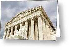 Supreme Court United States Greeting Card