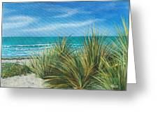 Surf Beach Greeting Card