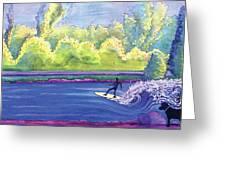 Surf Colorado Greeting Card