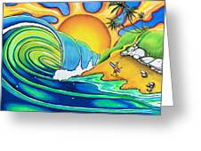 Surf Dude Greeting Card