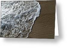 Surf Intricacies  Greeting Card