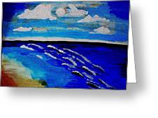 Surf Of Love 2 Greeting Card