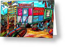Surf Shack Greeting Card