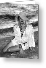 Surf Side Intrigue Greeting Card