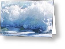 Surf Splashes Greeting Card
