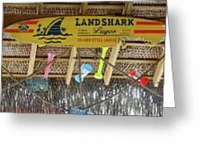 Surf This Tiki Hut Greeting Card