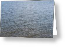 Surface Water Greeting Card