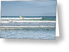 Surfboard Greeting Card