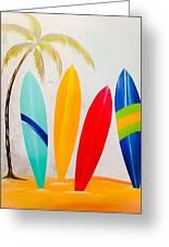 Surfboards II Greeting Card