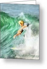 Surfer 46 Greeting Card