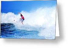 Surfer Alex Ribeiro - Nbr 3 Greeting Card