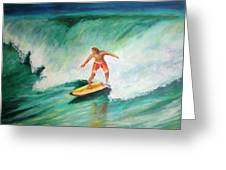 Surfer Dude Greeting Card