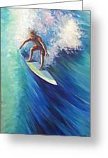 Surfer II Greeting Card