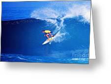 Surfer Mitch Crews Greeting Card