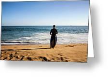 Surfer Greeting Card