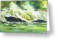 Surfers Dream Greeting Card