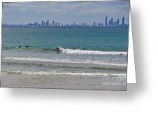 Surfers Paradise  Greeting Card