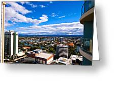 Surfers Paradise View Greeting Card